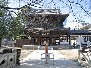 泉岳寺山門