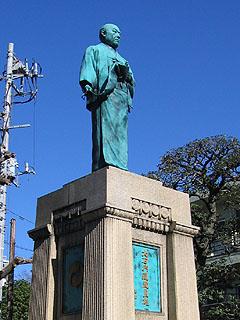 大石内蔵助良雄銅像