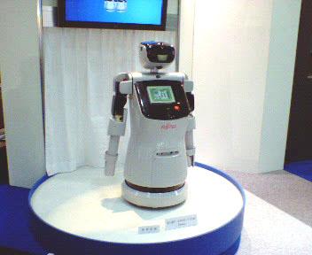 F社のロボット