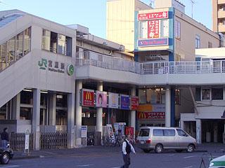 宮原駅ビル全景