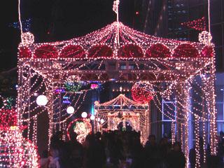 タカシマヤ タイムズスクエア クリスマスイルミネーション