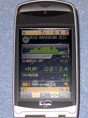 N902iの音楽再生機能