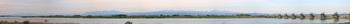 利根大堰の大パノラマ