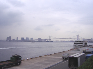 竹芝桟橋にて