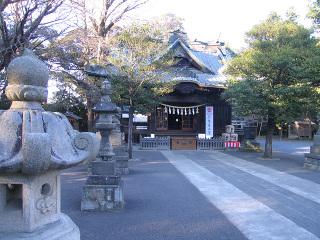 玉敷神社・本殿