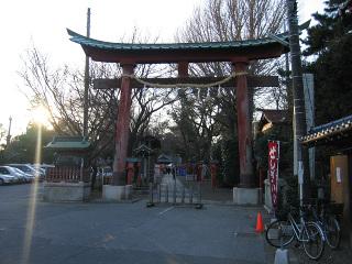 鷲宮神社・参道