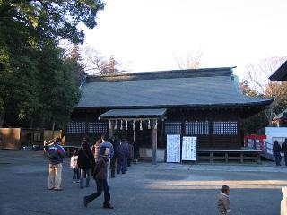 鷲宮神社・拝殿