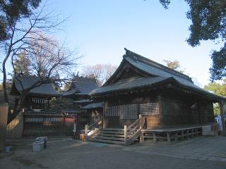 鷲宮神社・拝殿と本殿
