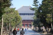 中門の奥に見える大仏殿