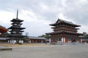 薬師寺伽藍(東塔と金堂)