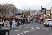 嵐山のメインストリート