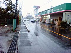 また雨だよ...