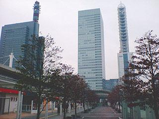 新都心の高層ビル