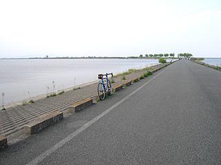 渡良瀬遊水池にて