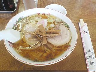 岡崎麺のラーメン
