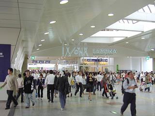 川崎駅と直結だ