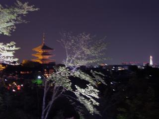 高台寺前の眺望