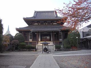 青山善光寺・本堂