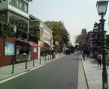 北野通り(異人館街)
