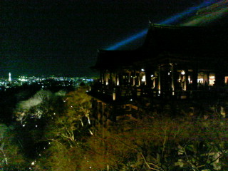 清水寺夜の特別拝観